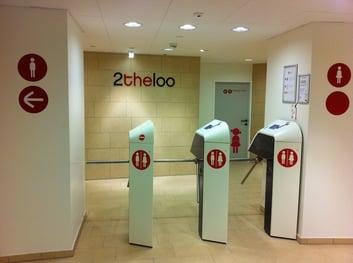 Un nuevo concepto de baño publico