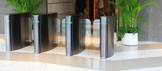 Optical Turnstile with Plant